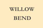 sign for Willow Bend