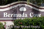 sign for Bermuda Cove