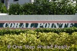 sign for Coral Pointe